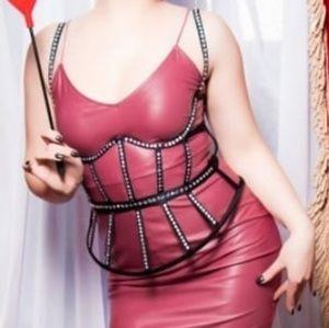 Victorias Secret Swarovski Crystal Corset Bustier